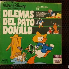 Super 8 - Dilemas del Pato Donald - Bobina de 120 m - Walt Disney - Color Sonora