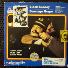 Cine: SUPER 8 - DOMINGO NEGRO (BLACK SUNDAY) - BOBINA DE 120 M. Lote 113205150