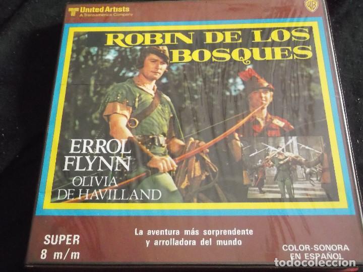 ROBIN DE LOS BOSQUES-ERROL FLYNN-COLOR SONORA EN ESPAÑOL (Cine - Películas - Super 8 mm)