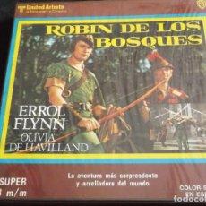 Cine: ROBIN DE LOS BOSQUES-ERROL FLYNN-COLOR SONORA EN ESPAÑOL. Lote 113571647