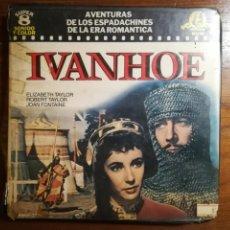 Cine: PELICULA SUPER 8 IVANHOE. ELIZABETH TAYLOR.RESUMEN. 120MTS.. Lote 113944098