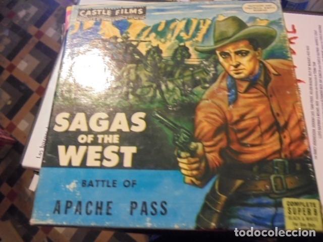 Cine: SAGAS OF THE WEST BATTLE OF APACHE PASS - ¿ paz rota ? - buen estado - envio gratis - Foto 2 - 115098011
