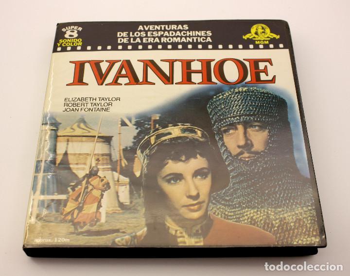 IVANHOE - ELIZABETH TAYLOR - PELICULA SUPER 8 COLOR - SONIDO EN ESPAÑOL (Cine - Películas - Super 8 mm)