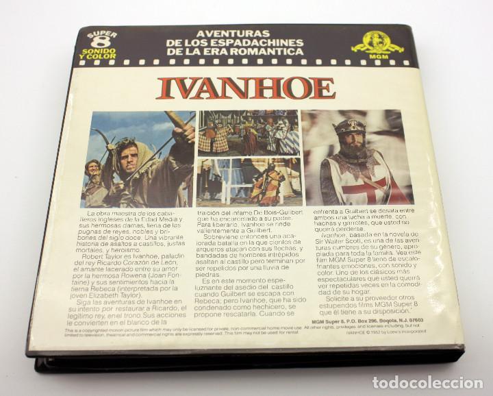 Cine: IVANHOE - ELIZABETH TAYLOR - PELICULA SUPER 8 COLOR - SONIDO EN ESPAÑOL - Foto 3 - 115319175
