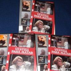 Cine: VESTIDA PARA MATAR - MEDIOMETRAJE SUPER 8 - 3 X 120 - CAJAS ORIGINALES. Lote 111083819