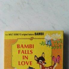 Cine: BAMBI FALLS IN LOVE CINE CINTA SUPER 8MM. Lote 117259942