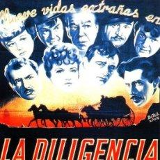 Cine: LA DILIGENCIA (1939 / JOHN FORD / WALTON FIMS). Lote 118510915