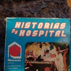 Cine: HISTORIAS DE HOSPITAL - PELICULA SUPER 8 - FILMENCAS - DIBUJOS SUPER EROTICOS. Lote 119334463