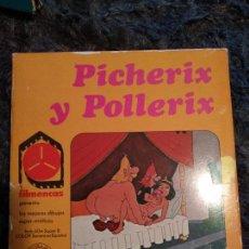 Cine: PICHERIX Y POCHERIX - PELICULA SUPER 8 - FILMENCAS - DIBUJOS SUPER EROTICOS. Lote 119343527