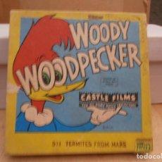 Cine: SUPER 8 M M - WOODY WOODPECKER - CASTLE FILMS. Lote 119347247