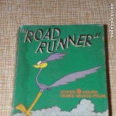 Cine: PELICULA SUPER 8 COLOR CORRE CAMINOS ROAD RUNNER WARNER BROS 1971. Lote 119904443