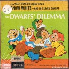 Cine: SUPER 8 ++SNOW WHITE. THE DWARF'S DILEMAT ++ 60 METROS. Lote 120779667