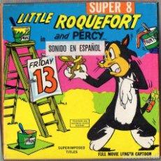 Cine: SUPER 8 ++ EL PEQUEÑO ROQUEFORT. VIERNES 13 ++ 60 METROS. Lote 120780119