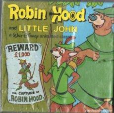 Cine: SUPER 8 ++ ROBIN HOOD AND LITTLE JOHN ++ 60 METROS. PRECINTADA. Lote 120780691