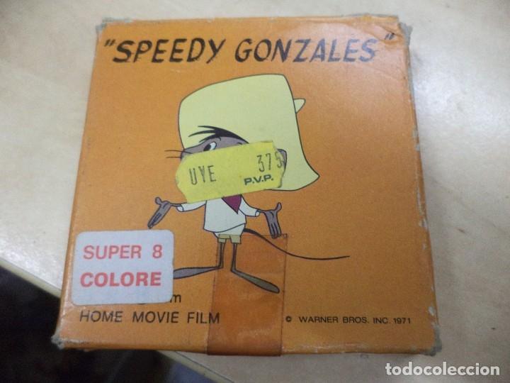 Cine: Lote colección de 14 películas Super 8 principio años 70.Dibujos Supermán,Tarzán,Bugs Bunny...... - Foto 2 - 121325223