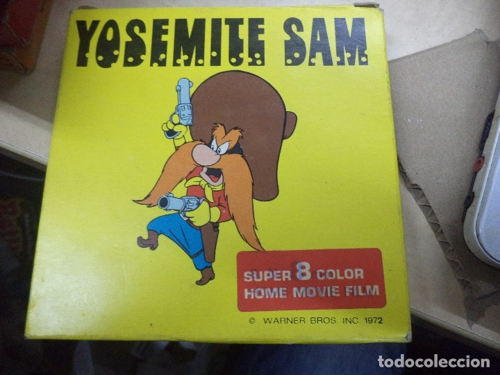 Cine: Lote colección de 14 películas Super 8 principio años 70.Dibujos Supermán,Tarzán,Bugs Bunny...... - Foto 8 - 121325223