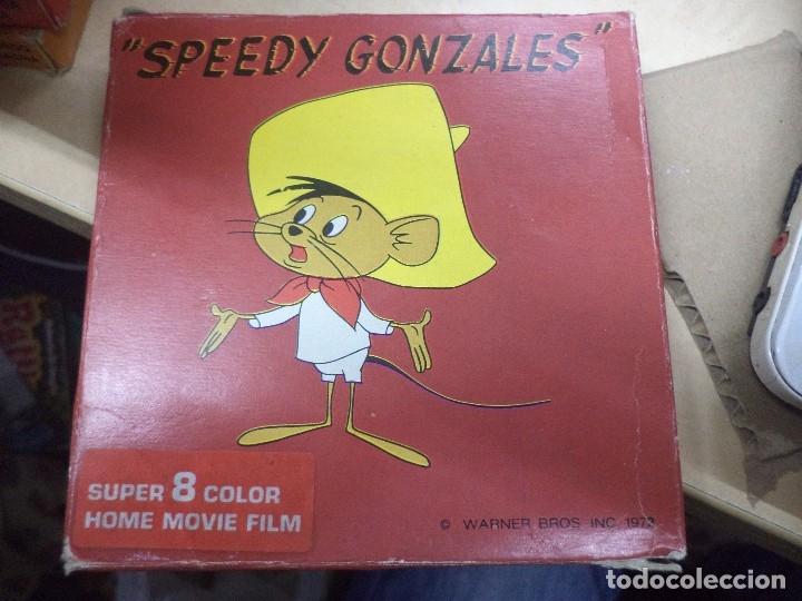 Cine: Lote colección de 14 películas Super 8 principio años 70.Dibujos Supermán,Tarzán,Bugs Bunny...... - Foto 9 - 121325223