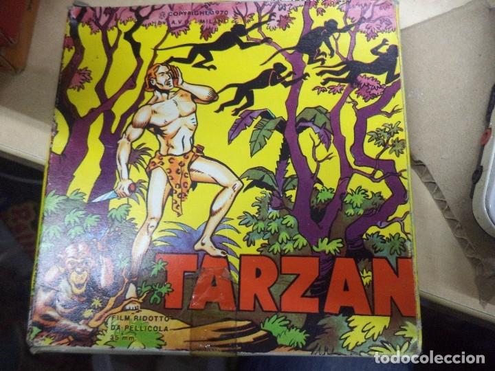 Cine: Lote colección de 14 películas Super 8 principio años 70.Dibujos Supermán,Tarzán,Bugs Bunny...... - Foto 10 - 121325223