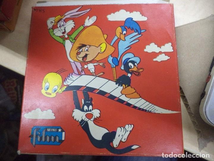 Cine: Lote colección de 14 películas Super 8 principio años 70.Dibujos Supermán,Tarzán,Bugs Bunny...... - Foto 11 - 121325223