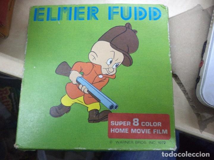 Cine: Lote colección de 14 películas Super 8 principio años 70.Dibujos Supermán,Tarzán,Bugs Bunny...... - Foto 13 - 121325223