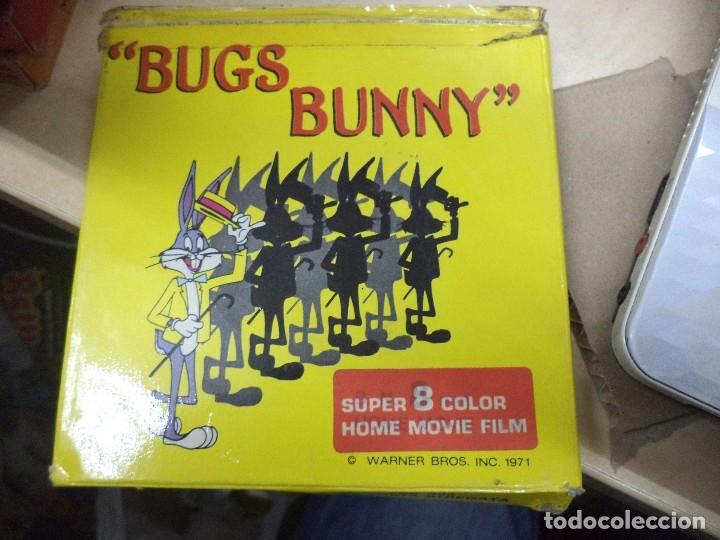 Cine: Lote colección de 14 películas Super 8 principio años 70.Dibujos Supermán,Tarzán,Bugs Bunny...... - Foto 15 - 121325223