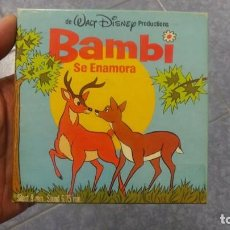Cine: BAMBI SE ENAMORA PELÍCULA-SUPER 8 MM-WALT DISNEY RETRO VINTAGE FILM. Lote 122165067