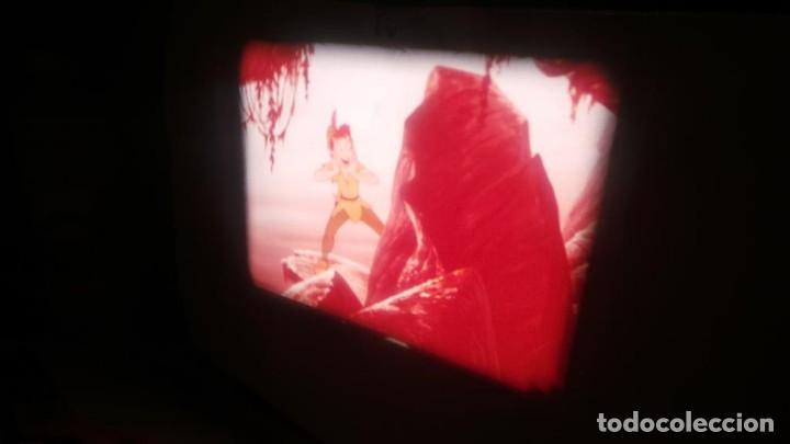 Cine: PETER PAN SE ENFRENTA AL CAPITAN GARFIO PELÍCULA-SUPER 8 MM-WALT DISNEY RETRO VINTAGE FILM - Foto 7 - 122165179