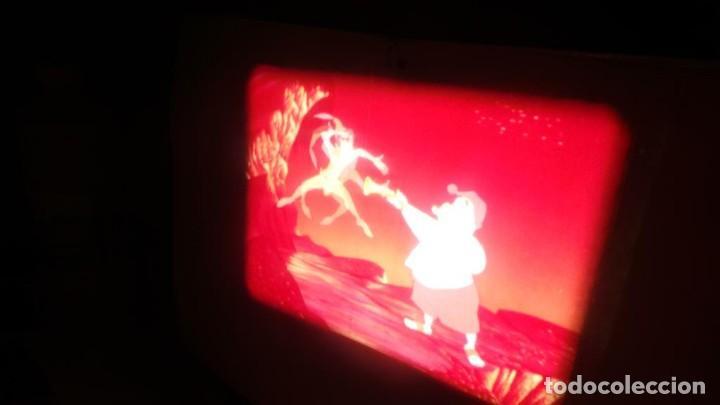 Cine: PETER PAN SE ENFRENTA AL CAPITAN GARFIO PELÍCULA-SUPER 8 MM-WALT DISNEY RETRO VINTAGE FILM - Foto 19 - 122165179