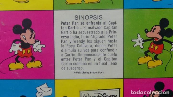 Cine: PETER PAN SE ENFRENTA AL CAPITAN GARFIO PELÍCULA-SUPER 8 MM-WALT DISNEY RETRO VINTAGE FILM - Foto 49 - 122165179