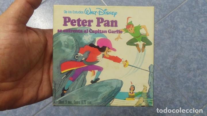 Cine: PETER PAN SE ENFRENTA AL CAPITAN GARFIO PELÍCULA-SUPER 8 MM-WALT DISNEY RETRO VINTAGE FILM - Foto 54 - 122165179