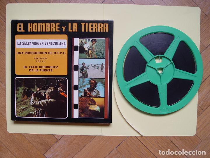 SÚPER 8: RODRÍGUEZ DE LA FUENTE (EL HOMBRE Y LA TIERRA:5; SELVA VIRGEN VENEZOLANA) RTVE. AÑOS 70'S (Cine - Películas - Super 8 mm)