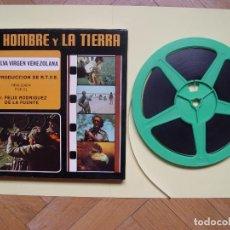 Cine: SÚPER 8: RODRÍGUEZ DE LA FUENTE (EL HOMBRE Y LA TIERRA:5; SELVA VIRGEN VENEZOLANA) RTVE. AÑOS 70'S. Lote 124028179