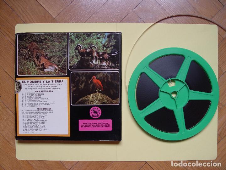 Cine: SÚPER 8: Rodríguez de la Fuente (EL HOMBRE Y LA TIERRA:5; Selva virgen venezolana) RTVE. Años 70's - Foto 2 - 124028179