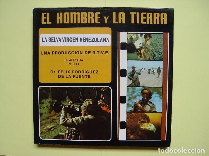 Cine: SÚPER 8: Rodríguez de la Fuente (EL HOMBRE Y LA TIERRA:5; Selva virgen venezolana) RTVE. Años 70's - Foto 4 - 124028179