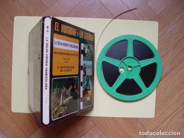 Cine: SÚPER 8: Rodríguez de la Fuente (EL HOMBRE Y LA TIERRA:5; Selva virgen venezolana) RTVE. Años 70's - Foto 6 - 124028179