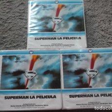 Cine: SUPERMAN LA PELICULA-WARNER BROS-3 PELICULAS. Lote 126988511