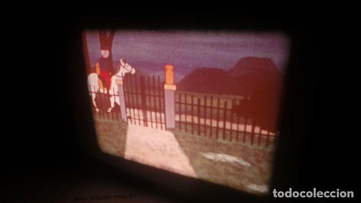 Cine: BOBINA TRES-CORTOMETRAJES CUENTOS-DIBUJOS ANIMADOS SUPER 8 MM VINTAGE FILM Nº 6 - Foto 2 - 129327479