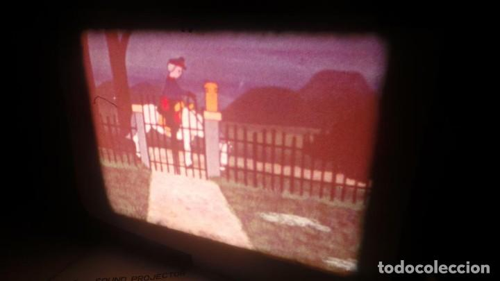 Cine: BOBINA TRES-CORTOMETRAJES CUENTOS-DIBUJOS ANIMADOS SUPER 8 MM VINTAGE FILM Nº 6 - Foto 3 - 129327479