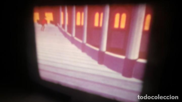 Cine: BOBINA TRES-CORTOMETRAJES CUENTOS-DIBUJOS ANIMADOS SUPER 8 MM VINTAGE FILM Nº 6 - Foto 10 - 129327479