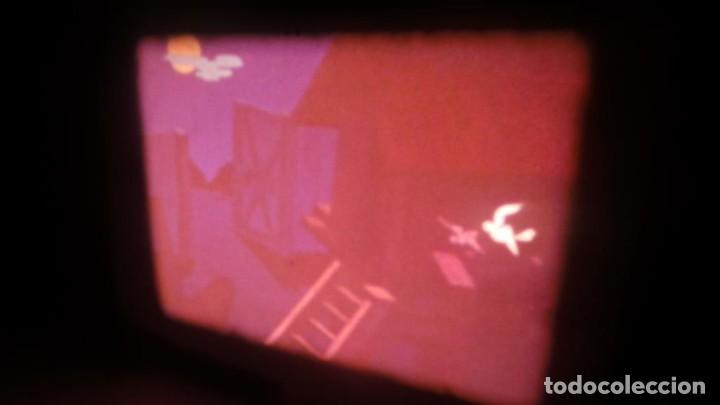 Cine: BOBINA TRES-CORTOMETRAJES CUENTOS-DIBUJOS ANIMADOS SUPER 8 MM VINTAGE FILM Nº 6 - Foto 11 - 129327479