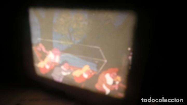 Cine: BOBINA TRES-CORTOMETRAJES CUENTOS-DIBUJOS ANIMADOS SUPER 8 MM VINTAGE FILM Nº 6 - Foto 34 - 129327479