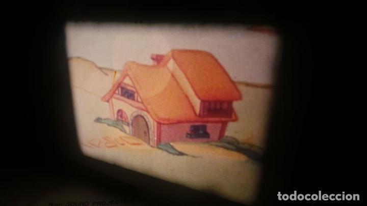 Cine: BOBINA TRES-CORTOMETRAJES CUENTOS-DIBUJOS ANIMADOS SUPER 8 MM VINTAGE FILM Nº 6 - Foto 51 - 129327479