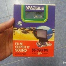 Cine: SPAZIALE–MOTORFILM-FILM SUPER 8 SOUND ORIGINAL,CORTOMETRAJE SUPER 8 MM VINTAGE FILM Nº 12. Lote 129327603