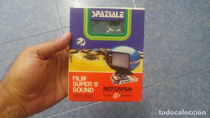 Cine: SPAZIALE–MOTORFILM-FILM SUPER 8 SOUND ORIGINAL,CORTOMETRAJE SUPER 8 MM VINTAGE FILM Nº 12 - Foto 2 - 129327603