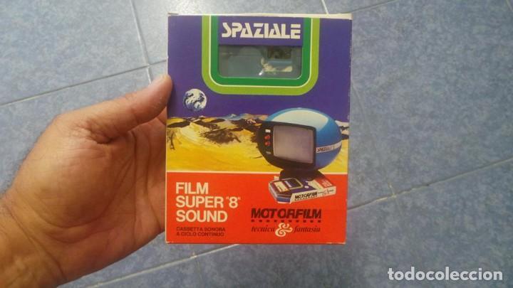 Cine: SPAZIALE–MOTORFILM-FILM SUPER 8 SOUND ORIGINAL,CORTOMETRAJE SUPER 8 MM VINTAGE FILM Nº 12 - Foto 3 - 129327603