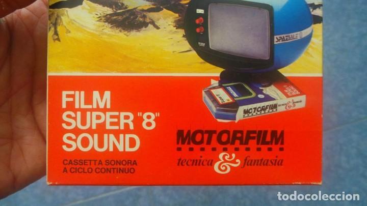 Cine: SPAZIALE–MOTORFILM-FILM SUPER 8 SOUND ORIGINAL,CORTOMETRAJE SUPER 8 MM VINTAGE FILM Nº 12 - Foto 4 - 129327603