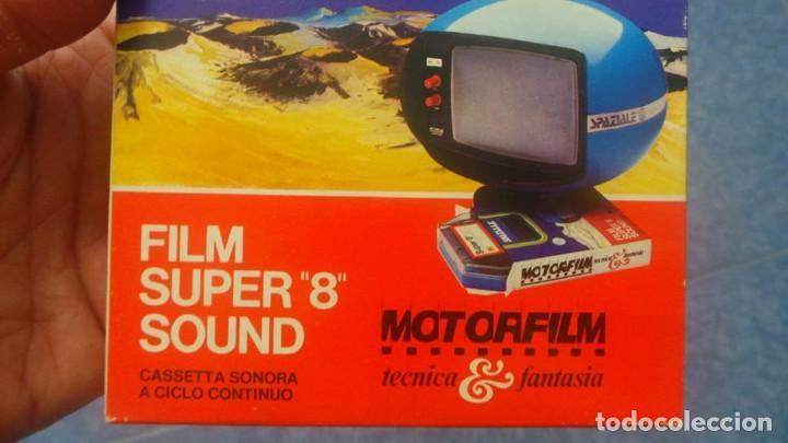 Cine: SPAZIALE–MOTORFILM-FILM SUPER 8 SOUND ORIGINAL,CORTOMETRAJE SUPER 8 MM VINTAGE FILM Nº 12 - Foto 5 - 129327603