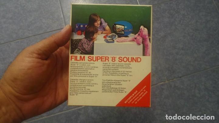 Cine: SPAZIALE–MOTORFILM-FILM SUPER 8 SOUND ORIGINAL,CORTOMETRAJE SUPER 8 MM VINTAGE FILM Nº 12 - Foto 8 - 129327603