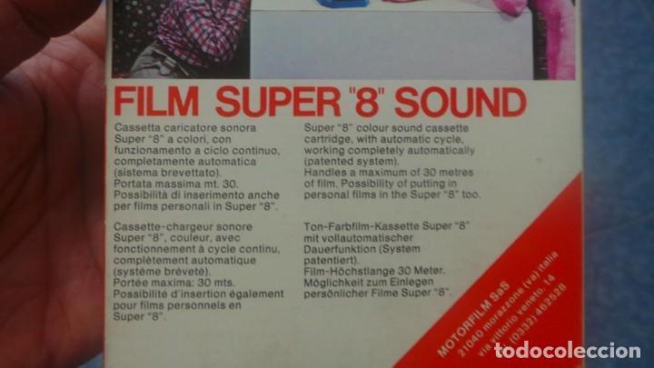 Cine: SPAZIALE–MOTORFILM-FILM SUPER 8 SOUND ORIGINAL,CORTOMETRAJE SUPER 8 MM VINTAGE FILM Nº 12 - Foto 9 - 129327603
