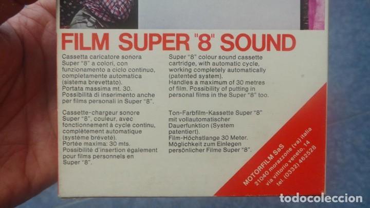 Cine: SPAZIALE–MOTORFILM-FILM SUPER 8 SOUND ORIGINAL,CORTOMETRAJE SUPER 8 MM VINTAGE FILM Nº 12 - Foto 10 - 129327603